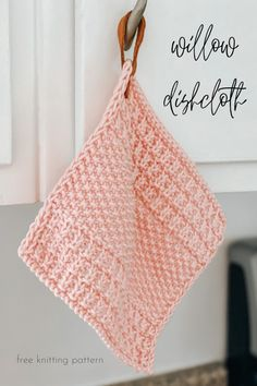 Welcome to Kneedles & Life where you will find crochet, knitting, mom, and life posts! Knitted Dishcloth Patterns Free, Knitted Washcloths, Knitting Patterns Free, Free Knitting, Crochet Patterns, Dishcloth Crochet, Stitch Patterns, Knitting Tutorials, Vintage Knitting