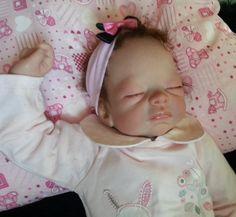 reborn baby doll from molly by Tasha Edenholm, reborn by myself.