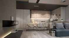 Appartement parquet bois clair