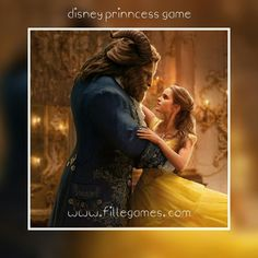 New disney princess Emma  Watson becomes Disney princess Beauty and the Beast  www.fillegames.com  #Disney #princesses #beautifulgirl #fillegames #fillegamescom #princess