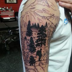 30+ Simple and Easy Pine Tree Tattoo Designs for Natural living Check more at http://tattoo-journal.com/30-simple-and-easy-pine-tree-tattoo-designs-for-natural-living/