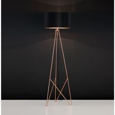 Eglo Camporale Vloerlamp 154 cm - Zwart - afbeelding 2