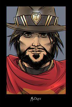 """Combat rolls onto your dash blaring""""Ecstasy of Gold"""" loudly –It's hiiiiiiiiiiigh noon~!  (McCree)"""