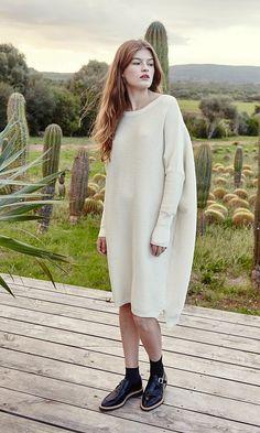 Neola sweater dress - Plümo Ltd