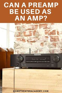 Having both a preamp and an amp in your home theater system might seem pointless, and you might have wondered if a preamp can be used as an amp. I decided to do some research so I could explain the issue in detail. So, can a preamp be used as an amp? Room Speakers, Home Theater Speakers, Audio Room, Home Theater Projectors, Best Home Theater, At Home Movie Theater, Home Theater Rooms, Home Theater Design, Whole Home Audio