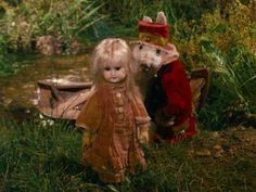 """Alice"" (Něco z Alenky, 1988) Jan Švankmajer. Free adaptation of Lewis Carroll's ""Alice's Adventures in Wonderland"" 1865"