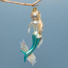 Mermaid Princess Ornament