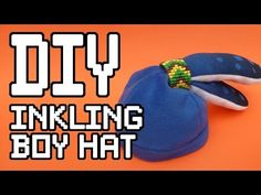 Inkling Boy Hat DIY Tutorial - YouTube