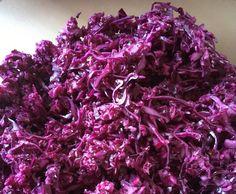Rezept Variation von Rotkohlsalat Sansibar mit Preiselbeeren von Friesia - Rezept der Kategorie Vorspeisen/Salate