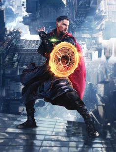 "league-of-extraordinarycomics: ""Doctor Strange by Matthew Soren. Marvel Dc Comics, Marvel Heroes, Marvel Characters, Marvel Movies, Marvel Avengers, Strange Marvel, Foto Doctor, Doctor Stranger, Marvel Cinematic Universe"