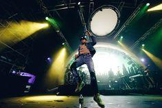 Chance The Rapper at Rhythm & Vines 2016.