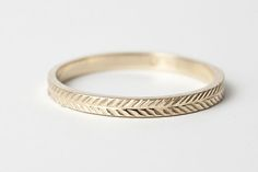 Just got engaged? Or in the month before your wedding and just realized you haven't picked out wedding bands? Well, you're in luck! We've scoured the web to bring you a plethora of beautiful, modern, and unconventional wedding bands. Happy wedding-ing! (P.S. If you're thinking about popping the question in the near future, check out our roundup on unconventional and affordable engagement rings!)