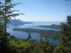 Beautiful view off Deer Mtn Ketchikan Alaska