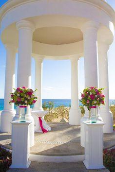 The beautiful Wedding Gazebo #DreamsLosCabos