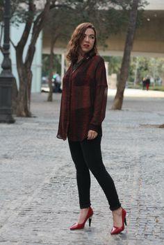 Camisa Mango, Pantalones H&M, Zapatos Lanvin para H&M