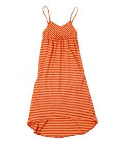 Take a look at this Orange Lillykins Dress by O'Neill on #zulily today!