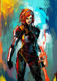 Quand Samus et Shepard(ette) prennent des couleurs - The Brainwasher - Gameblog.fr