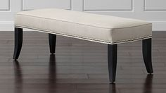 """$600   20.25"""" depth, 52.5"""" length, 18.5"""" height  Colette Bench 