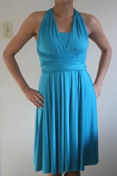 Infinity dress with Modesty. Henkaa Convertible style. Order at us.henkaa.com/karib and use stylist ID 1026