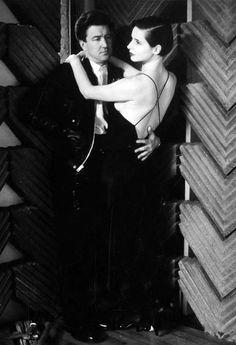 David Lynch and Isabella... by Helmut Newton