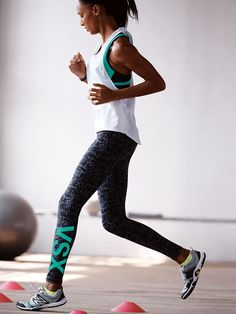 Build speed to break boundaries—the Knockout Tight's with you every step of the way. | Knockout by Victoria's Secret Sport Tight
