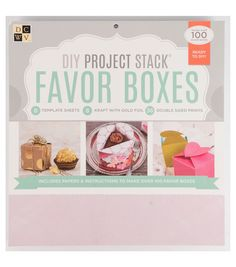 DCWV DIY Project Stack: Favor BoxesDCWV DIY Project Stack: Favor Boxes,