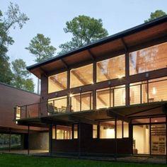 Deck House Renovation in Chapel Hill, North Carolina.