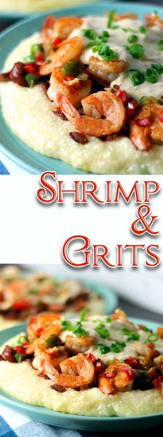Yummmmalicious! Absolutely rich and delicious, this Shrimp and Grits recipe is right up there with many of the great restaurants in the Lowcountry! #shrimpandgrits #comfortfood #shellfish #southerncooking via @sparklesofyum Best Seafood Recipes, Healthiest Seafood, Cod Recipes, Creole Recipes, Cajun Recipes, Fish Recipes, Cajun Food, Louisiana Recipes, Southern Recipes