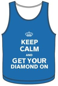 Keep calm and get your diamond on!    Alpha Delta Pi