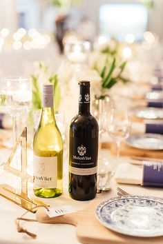 Photo collection by Christine Meintjes Wedding Decorations, Table Decorations, South Africa, Real Weddings, Wedding Planner, Blue And White, Floral, Wedding Planer, Flowers