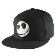 5105243959f Nightmare Before Christmas - Jack Head Snapback Cap