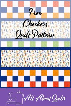 A Free Quilt Pattern perfect for the beginner quilter or for those needing to make a quilt in as little time as possible. This quilt pattern is great for showcasing those beautiful children's prints on the market. Quilt Design, Quilting Designs, Fabric Design, Quilt Patterns Free, Free Pattern, 52 Weeks, Strip Quilts, Beautiful Children, Quilt Making