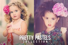 A BEST SELLER!!  Pretty Pastels Collection for Lightroom 4 and Lightroom 5 from Pretty Presets for Lightroom. One of the best selling collections in our store!