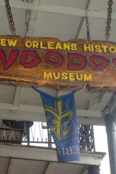 "Voodoo Museum, A nola ""must do"" since 1972"