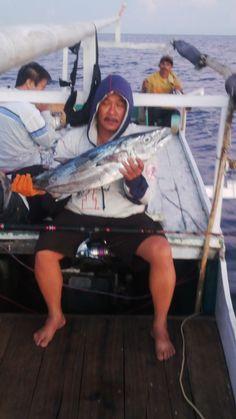 Fishing in Toli-toli. #Dogtooth tuna.
