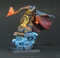 Reaper Miniatures - Jonas Kane, Undead Hunter Sculpted by Bobby Jackson, Painted by Anne Foerster