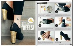 10 DIY Heels Ideas