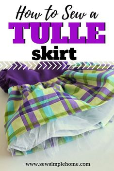 How to Make a Simple Tulle Underskirt Toddler Clothes Diy, Kids Dress Clothes, How To Make Clothes, Kids Clothing, Clothing Patterns, Dress Patterns, Cute Dresses For Teens, Wedding Dresses For Kids, Skirts For Kids