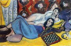 Models at Rest, 1928, by Henri Matisse