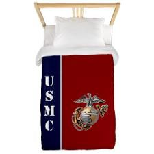 Red and Blue Marine duvetDid you know that 5% of proceeds from Cafepress on USMC do directly to the Marine Corps?