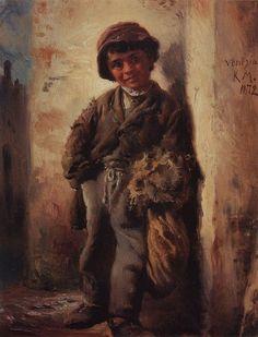 Константин Егорович Маковский (1839-1915).Савояр