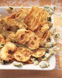 Artichoke, Fennel, and Lemon Fritto Misto Recipe | Martha Stewart