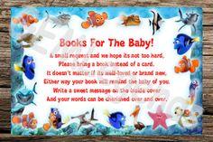 Nemo Baby Shower Finding Nemo Baby Shower Book by GEMLegends