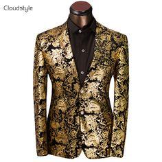 2017 Brand Clothing Men Blazer Chaqueta Americana Hombre Fashion Business Dress Slim Fit Outwear Suit Jacket costume homme suit