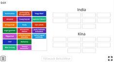 Kína VS India – Földrajz 7. osztály FELADAT - Kalauzoló - Online tanulás India, Bar Chart, Periodic Table, Japan, Goa India, Periodic Table Chart, Periotic Table, Bar Graphs, Japanese