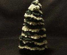Crochet Geek - Free Instructions and Patterns: Crochet Christmas Holiday Tree