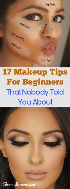 17 Makeup Tips For Beginners That Nobody Told You About- Follow these tips to rock your make up and look fly! #makeuptips #makeup