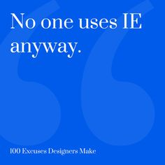 On the Creative Market Blog - 9 Ready-To-Use Excuses For Designers