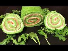 Rotolo Verde con Salmone e Formaggio. - al.ta.cucina