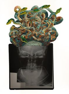 The Embroidered ImagePhenomenal embroidered X-Rays by Matthew Cox There's always a party on our site. BYOB and follow us…